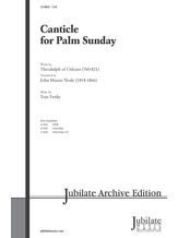 Canticle for Palm Sunday - Choral