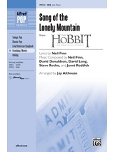 Song of the Lonely Mountain (from <i>The Hobbit: An Unexpected Journey</i>) - Choral
