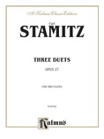 Stamitz: Three Duets, Op. 27 - Woodwinds