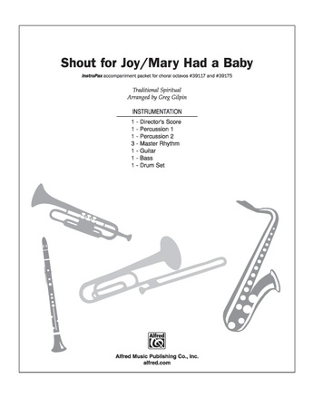 Shout for Joy / Mary Had a Baby - Choral Pax