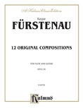 Furstenau: Twelve Original Compositions, Op. 34 - Guitar