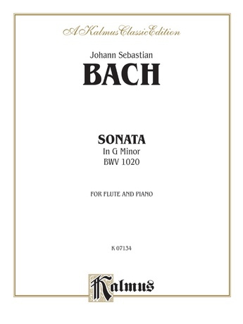 Bach: Sonata in G Minor, BWV 1020 - Woodwinds