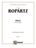 Ropartz: Piece in B flat Minor - Brass