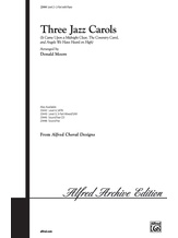 Three Jazz Carols - Choral