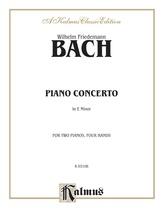 Bach: Piano Concerto in E Minor - Piano Duets & Four Hands