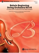 Belwin Beginning String Orchestra Kit #5 - String Orchestra
