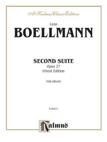 Boëllmann: Second Suite, Op. 27 (Urtext) - Organ