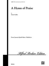 A Hymn of Praise - Choral