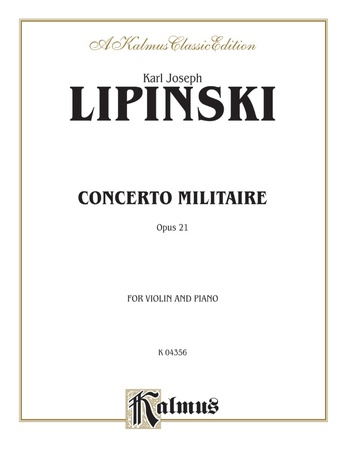 Lipinsky: Concerto Militare, Op. 21 - String Instruments