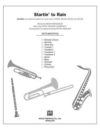Startin' to Rain - Choral Pax