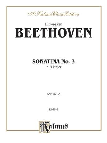 Beethoven: Sonata No. 3 in D Major - Piano