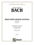 Bach: Contralto Arias, Volume III (German) - Voice