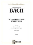 Bach: Two and Three-Part Inventions (Ed. Hans Bischoff) - Piano