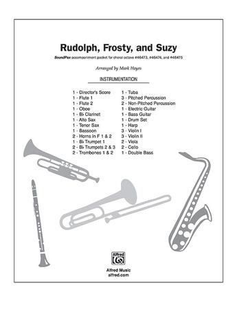 Rudolph, Frosty, and Suzy - Choir Accompaniment