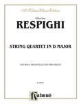 String Quartet in D Major (1907) - String Quartet