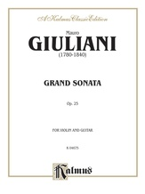 Giuliani: Grand Sonata for Violin and Guitar, Op. 25 - Guitar