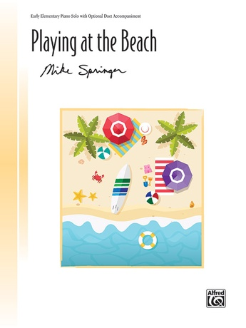Playing at the Beach - Piano