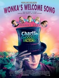 Wonka's Welcome Song (from Charlie and the Chocolate Factory) - Piano/Vocal/Chords