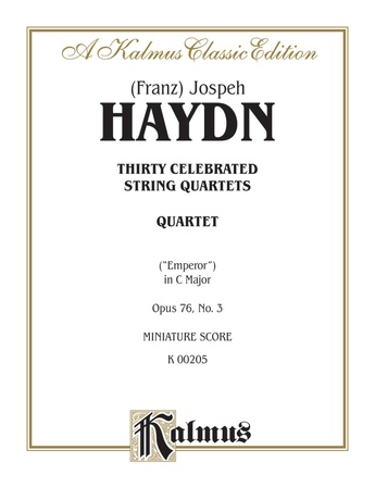 Haydn: String Quartet No. 77 in C Major, Op. 76, No. 3 - String Quartet