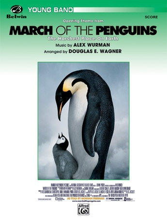 March of the Penguins, Opening Theme from (The Harshest Place on Earth) - Concert Band