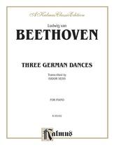 Beethoven: Three German Dances - Piano