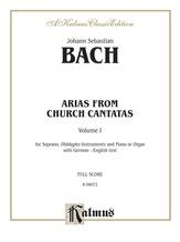 Bach: Soprano Arias from Church Cantatas, Volume I (Sacred) (German/English) - Voice