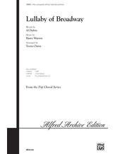 Lullaby of Broadway - Choral