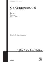 Go, Congregation, Go! - Choral