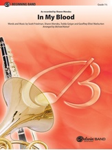 In My Blood - Concert Band