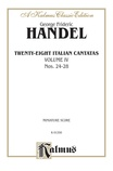 Handel: 28 Italian Cantatas with Instruments, Nos. 24-28 (Volume IV) - Voice