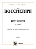 Boccherini: First Quintet in D Major, for Two Violins, Viola, Cello and Guitar - String Ensemble