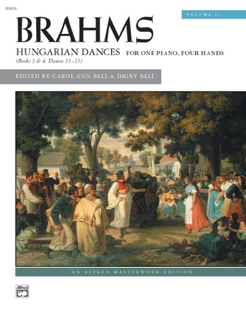 Brahms: Hungarian Dances, Volume 2 - Piano Duet (1 Piano, 4 Hands) - Piano Duets & Four Hands