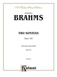 Brahms: Two Sonatas, Op. 120 - Woodwinds