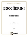 Boccherini: Three Trios, Op. 38 - String Ensemble