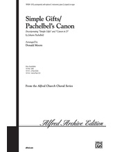 Simple Gifts / Pachelbel's Canon - Choral