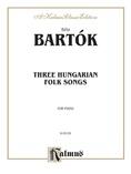 Bartók: Three Hungarian Folksongs - Piano
