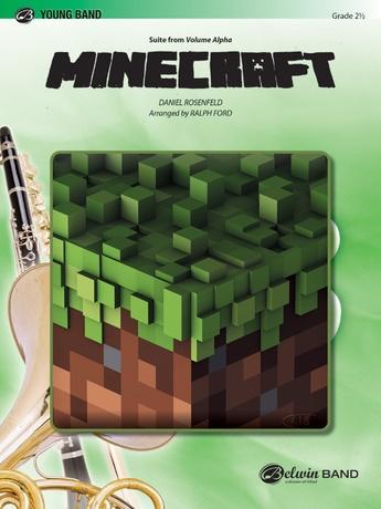 Minecraft: 1st B-flat Trumpet: Daniel Rosefeld   Concert Band Sheet