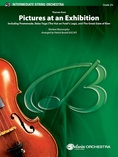 Themes from Pictures at an Exhibition: 3rd Violin (Viola [TC]) -