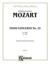 Mozart: Piano Concerto No. 23 in A Major, K. 488 - Piano Duets & Four Hands