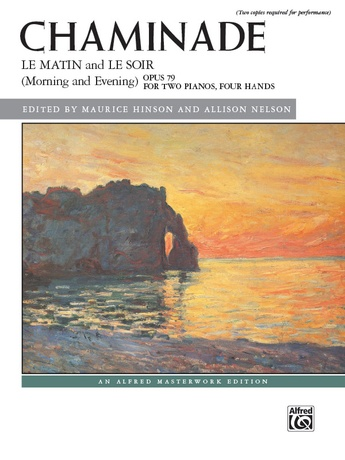 Chaminade: Le matin and Le soir (Morning and Evening), Opus 79 - Piano Duo (2 Pianos, 4 Hands) - Piano Duets & Four Hands