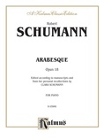 Schumann: Arabesque - Piano