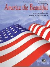 America the Beautiful - Piano Duo (2 Pianos, 4 Hands) - Piano Duets & Four Hands