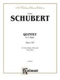 String Quintet in C Major, Op. 163 - String Quintet