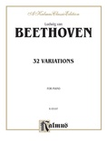 Beethoven: 32 Variations - Piano