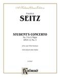 Seitz: Student's Concerto No. 3 in G Minor, Op. 12 - String Instruments