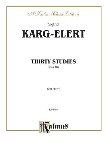 Karg-Elert: Thirty Studies, Op. 107 - Woodwinds