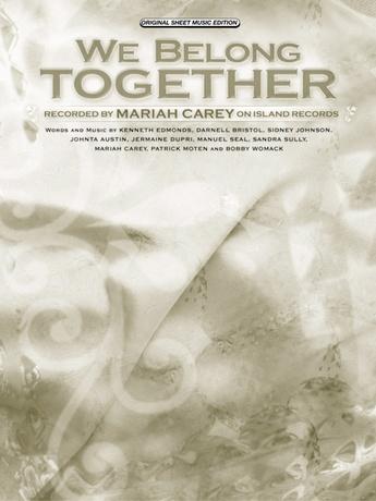 We Belong Together Mariah Carey Pianovocalchords Sheet Music