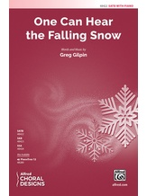 One Can Hear the Falling Snow - Choral