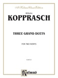 Kopprasch: Three Grand Duets - Brass