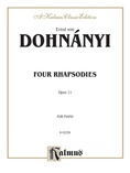 Dohnányi: Four Rhapsodies, Op. 11 - Piano